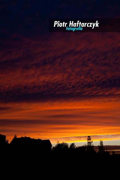 Wrześniowy zachód słońca